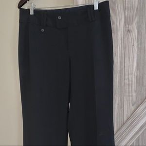 Banana Republic black women slacks